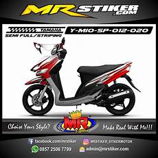 Airbrush Mio Sporty by Stiker Motor Decal Mio Sporty Airbrush Tech Stiker Motor