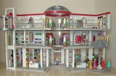 playmobil shopping mall 5485 and 5486 custom built a