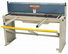 baileigh sf 5216 foot shear