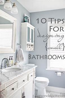 Bathroom Color Schemes Small Bathrooms by 10 Tips For Designing A Small Bathroom Diy Home Decor