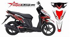 Modifikasi Motor Matic Vario by Modifikasi Motor Matic Vario 125 Fi Striping White