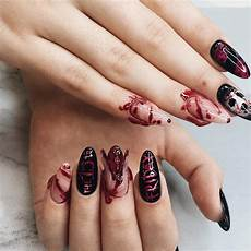 spooky halloween nail ideas to try from pinterest
