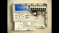 programmable thermostat products tx1500e youtube