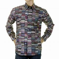 paul smith mens shirt multi print shirt 513a 456 ps2882 at