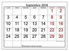 Calendrier Septembre 2018 62ld Michel Zbinden Fr