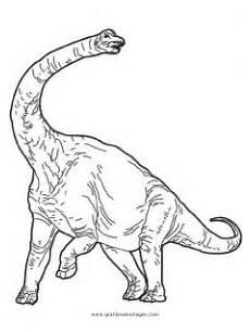 Dinosaurier Brachiosaurus Ausmalbilder Brachiosaurus Gratis Malvorlage In Dinosaurier Tiere