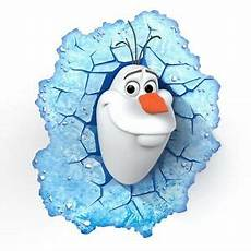 disney frozen olaf 3d deco wall led light fx room decor 816733840741 ebay