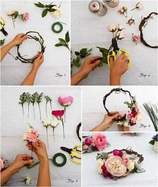 haarkranz flechten for addy wreaths flower crown tutorial hair wreaths