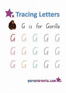 capital letter g tracing worksheets 24645 preschool worksheets guruparents