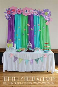 Butterfly Theme Decorations