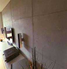 Wohnideen Wandgestaltung Maler Wand In Betonoptik Mit