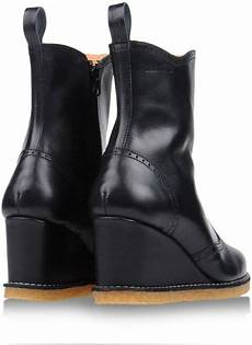 swedish hasbeens ankle boots in black lyst