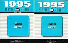 old cars and repair manuals free 1995 geo prizm electronic toll collection 1995 geo prizm repair shop manual original set