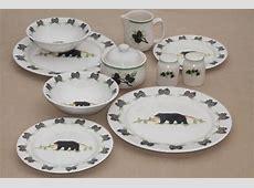 Pine Cone Dinnerware Set & Harker Pine Cone Flat Cup