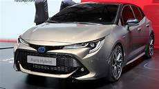 2019 toyota auris debuts new 178hp hybrid vehicles and