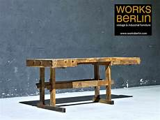 Werkbank Holz Alt - sale alte hobelbank aus holz restaurierte werkbank als