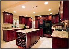 kitchen paint colors with dark maple cabinets painting