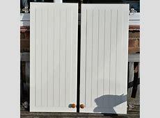 2 X IKEA FAKTUM STAT KITCHEN WALL UNIT DOORS 395MM X 920