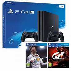 pack ps4 pro 2 manettes fifa 18 gran turismo