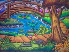 Dapet Kiriman Gambar Lg Nh Mau Lihat Lukisan Krayon
