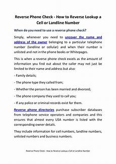 landline number to mobile phone check how to lookup a cell or