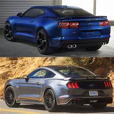 2019 camaro 2018 mustang the facelift muscle car