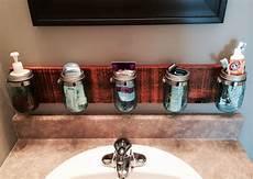 Bathroom Jar Storage by Diy Jar Bathroom Storage Bathrooms