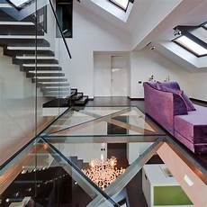 Transparent Flooring Not For Everyone Living Spaces