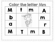 letter m worksheets for pre k 23713 prek color worksheet letter m by ashleigh b madsen tpt