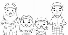 Gambar Kartun Islami Untuk Diwarnai Top Gambar