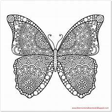 Malvorlagen Mandala Schmetterling Schmetterling Mandala Butterfly Mandala Free Mandala
