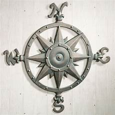 indoor outdoor nautical compass metal wall art traditional outdoor wall art by touch of class