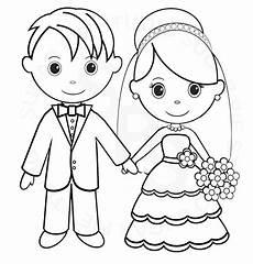 Brautpaar Ausmalbilder Malvorlagen Malvorlagen Hochzeitstag
