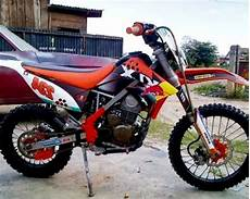 Modifikasi Klx by Modifikasi Klx 150 Supermoto Motor Kawasaki Buat Adventure