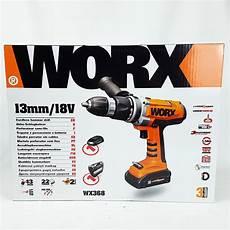 worx 18v 2 akku schlagbohrschrauber akkuschrauber