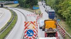 Verkehr A7 Bayern - verkehr a7 ab freitag gesperrt lange staus drohen welt