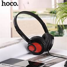 Hoco W100 Portable Wired Gaming Headphone by Hoco Headphones 3 5mm With Mic Wired Portable On Ear