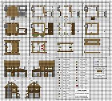 minecraft pe house plans poppy cottage medium minecraft house blueprints by