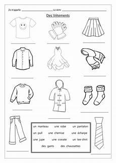 worksheets les vetements 18940 clothing des v 234 tements introduction by labellaroma teaching resources