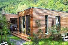 Kleines Haus Aus Holz Bauen - minihaus ferienhaus kubus fertighaus ausbauhaus