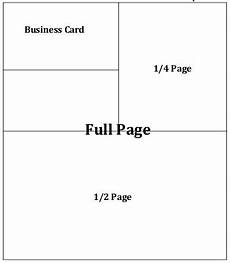 business card size advertisement template conference guide ads patients out of time