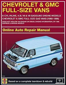 motor repair manual 1995 gmc vandura g2500 head up display 1980 gmc g2500 haynes online repair manual select access ebay