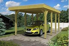 Holz Carport Bausatz Skanholz 171 Friesland Holzdach