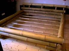 Futonbett Selber Bauen - vorstellung eines bambusbettes u a aufbau lattenroste