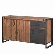 sideboard akazie sideboard manchester akazie massiv metall home24