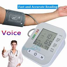 do automatic blood pressure machines read high automatic upper arm high blood pressure monitor bp cuff meter voice reading ebay