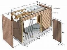 Holzverkleidung Haus Selber Machen - fahrradschuppen selber machen heimwerkermagazin ideen