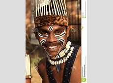 Tribal Man Editorial Stock Photo   Image: 6911363