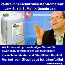 roundup verbot deutschland appell an die landesminister f 252 r verbraucherschutz nein