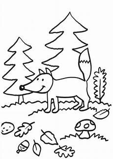 Malvorlage Fuchs Einfach Malvorlage Fuchs Einfach